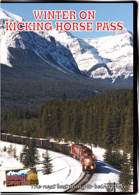 Winter on Kicking Horse Pass - Canadian Pacific