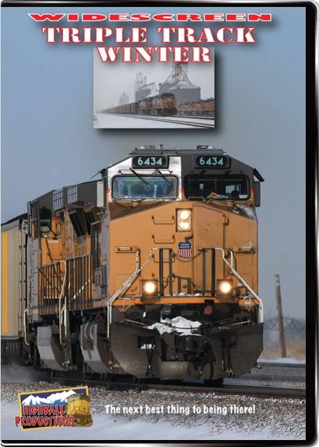 Triple Track Winter - The Union Pacific Overland Route