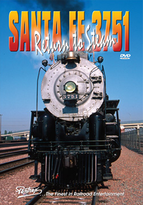 Santa Fe 3751 - Return to Steam DVD
