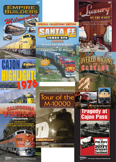 8 DVD Vintage Railroad Collection - Eight Individual DVDs