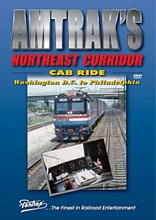 Amtraks Northeast Corridor Cab Ride DVD