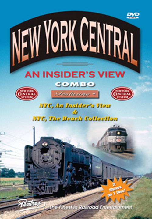 New York Central - An Insiders View Combo DVD