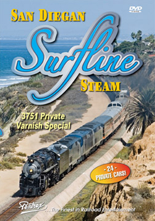 San Diegan Surfline Steam DVD