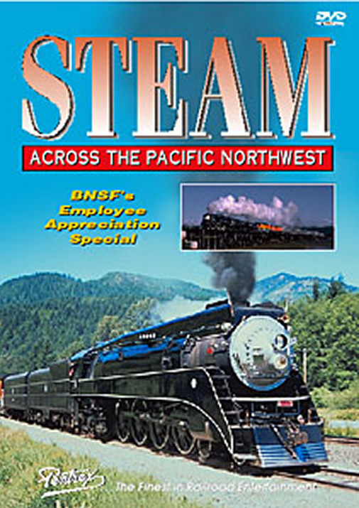 Steam Across the Pacific Northwest DVD
