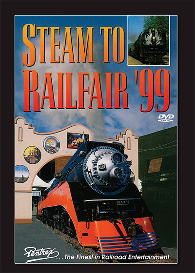Steam to Railfair 99 DVD