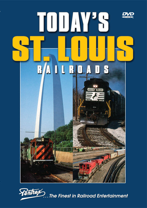 Todays St. Louis Railroads DVD